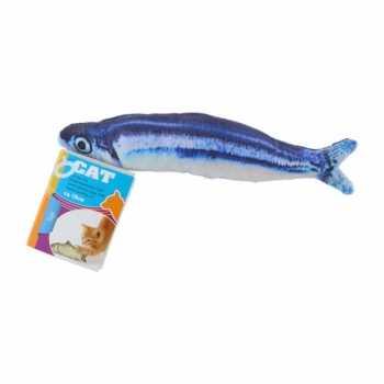 1x stuks kattenspeelgoed vissen kattenkruid/catnip 19 makreel