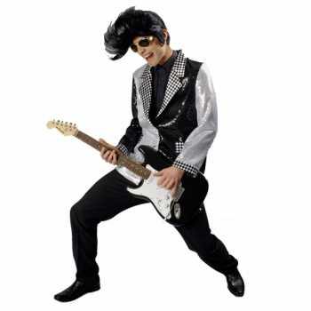 Elvis kostuum colbert rock and roll