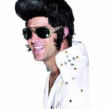 Gouden Elvis bril