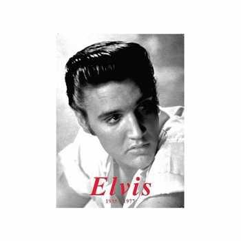 Grote muurplaat Elvis Presley 30x40cm