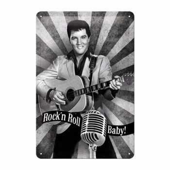 Muurdecoratie Rock n Roll Baby 20 bij 30