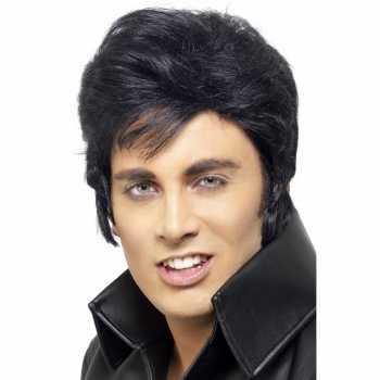 Volwassennen Elvis pruik