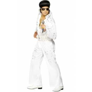 Witte Elvis jumpsuits glimmers